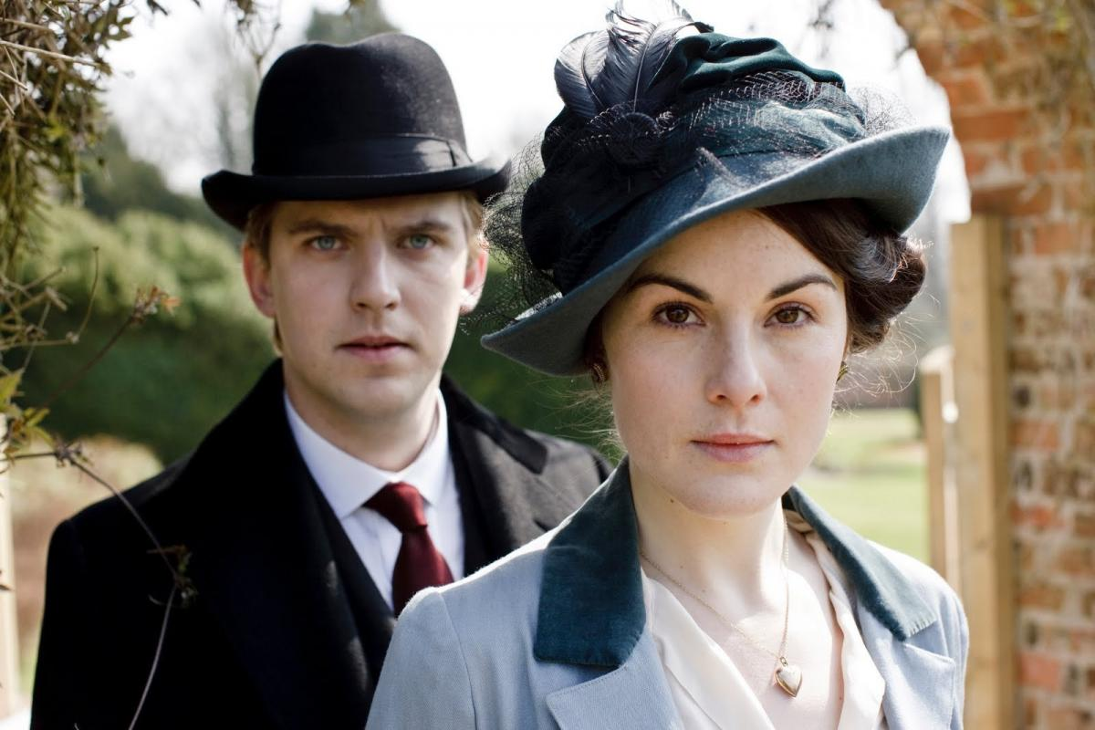 Downton Abbey_Matthew and Mary